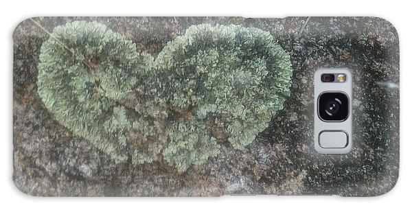 Moss Heart  Galaxy Case