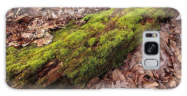 Moss On Pine Galaxy Case