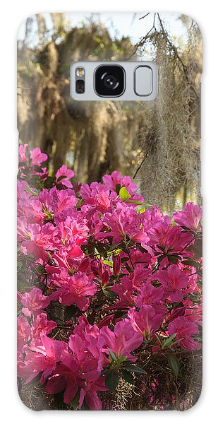 Moss Over Azaleas Galaxy Case