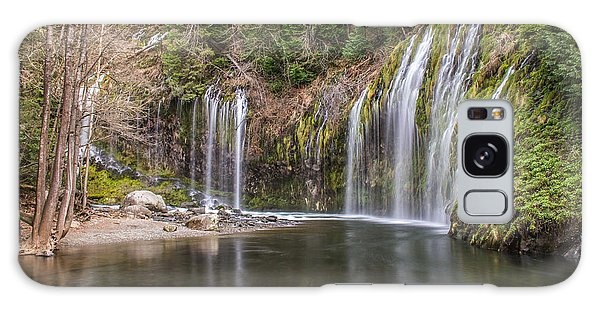 Mossbrae Falls Galaxy Case by Randy Wood