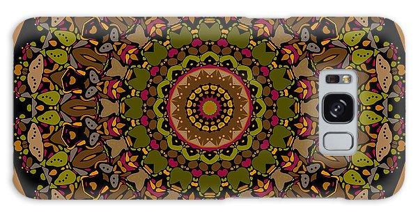 Galaxy Case featuring the digital art Mossyrock Mandala by Joy McKenzie