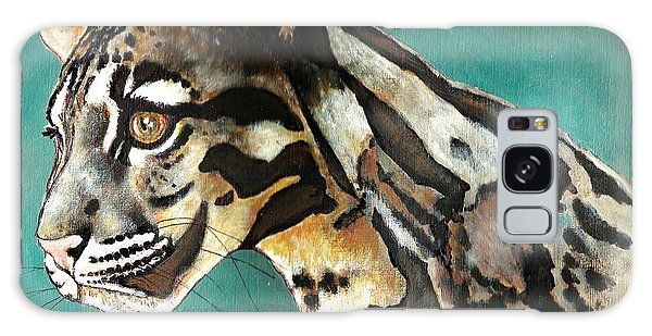 Most Elegant Leopard Galaxy Case by VLee Watson