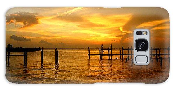 Most Venerable Sunset Galaxy Case by Kathy Bassett