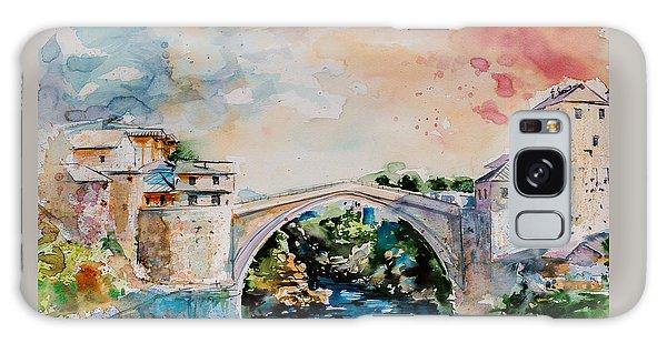 Mostar Bridge Galaxy Case