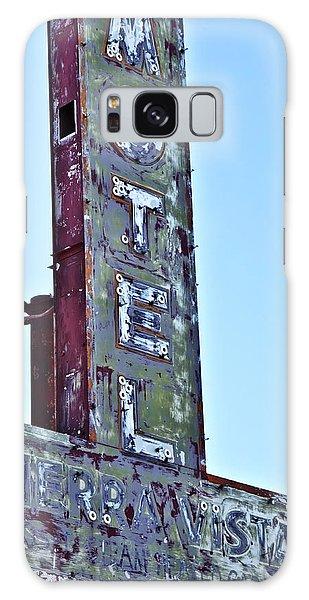Motel Sierra Vista Vintage Neon Sign Galaxy Case