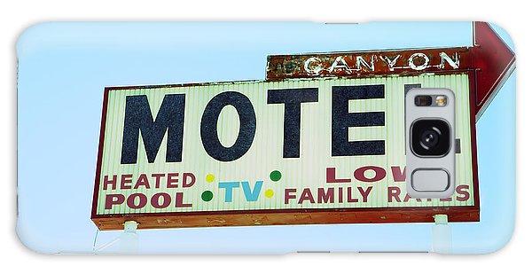 Motel Sign Galaxy Case