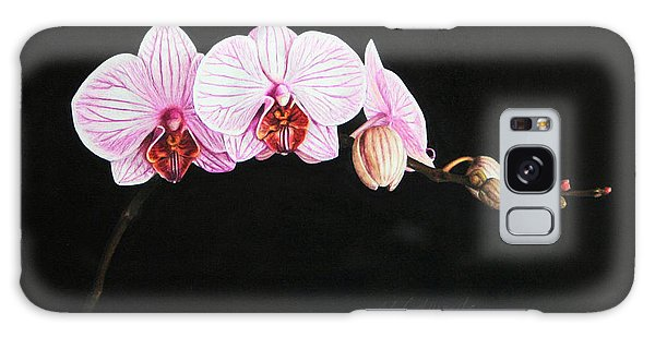 Moth Orchid Galaxy Case by Marna Edwards Flavell