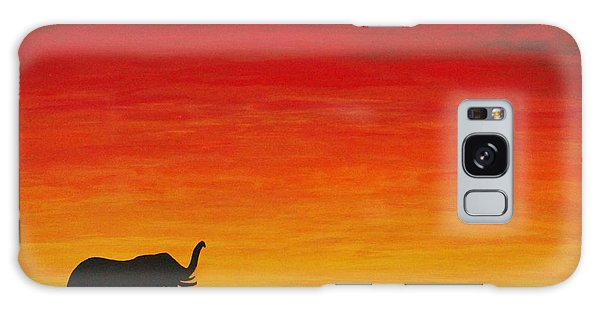 Mother Africa 1 Galaxy Case by Michael Cross