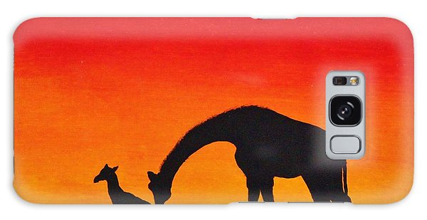 Mother Africa 2 Galaxy Case by Michael Cross