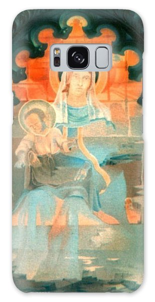 Mother And Child By Fabriano 1975 Galaxy Case