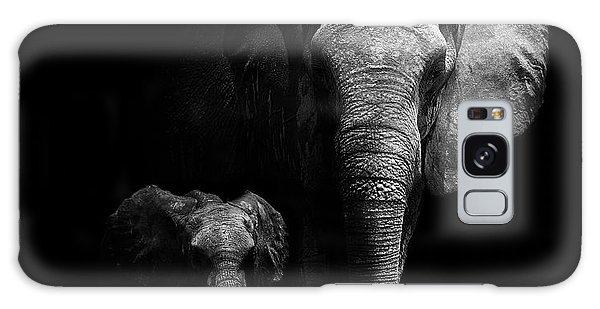 Safe Galaxy Case - Mother And Child by Wildphotoart
