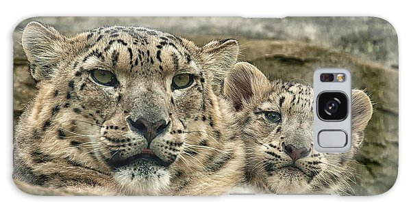 Mother And Cub Galaxy Case by Chris Boulton