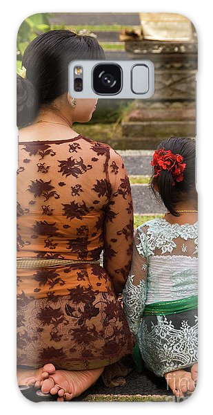 Mother And Daughter Galaxy Case by Rick Piper Photography