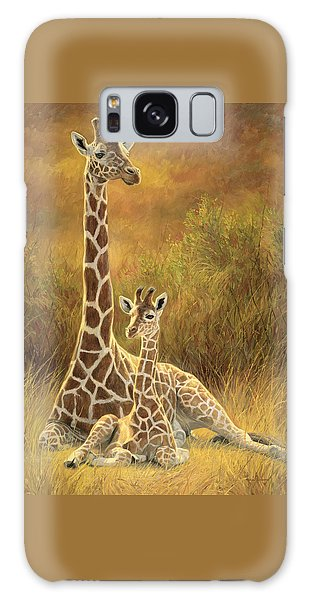 Wildlife Galaxy Case - Mother And Son by Lucie Bilodeau