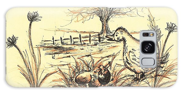 Gosling Galaxy Case - Mother Goose by Teresa White