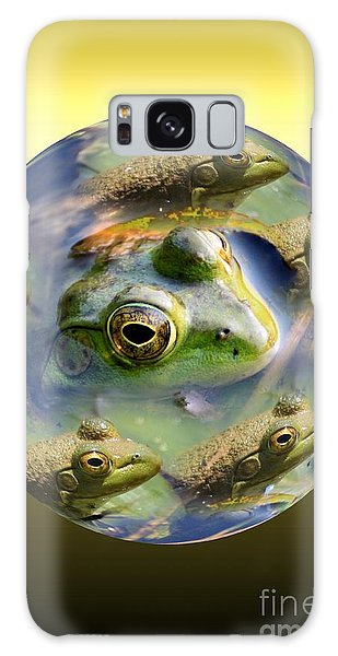 Mother Of All Frogs Galaxy Case