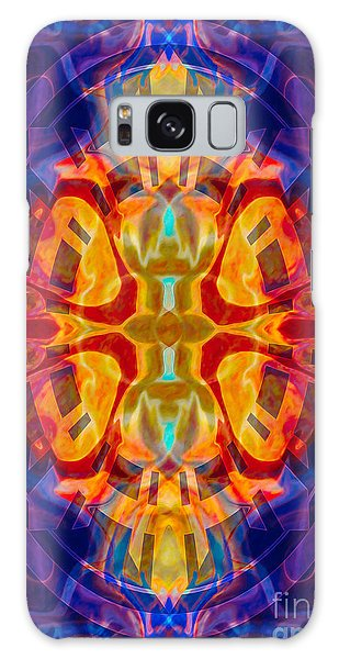 Mother Of Eternity Abstract Living Artwork Galaxy Case