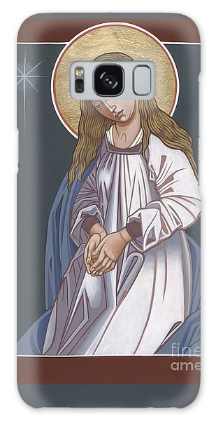 Mother Of God Waiting In Adoration 248 Galaxy Case