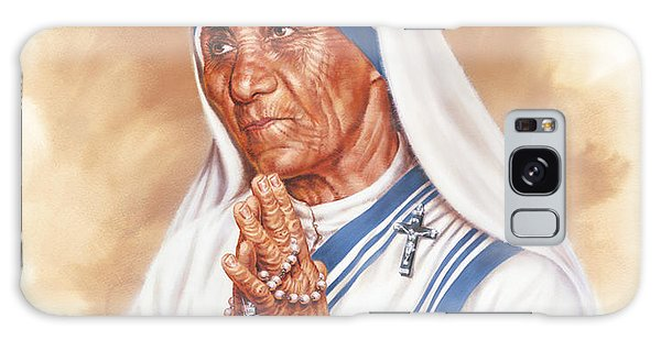 Mother Teresa Galaxy Case