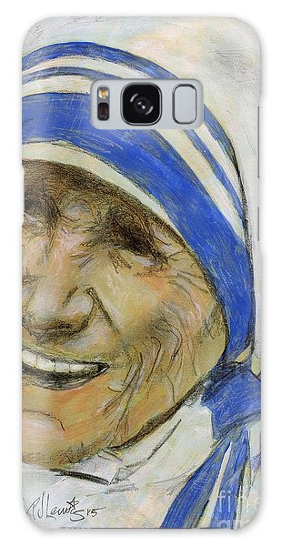 Mother Teresa Galaxy Case by P J Lewis