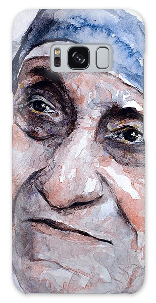 Mother Theresa Watercolor Galaxy Case