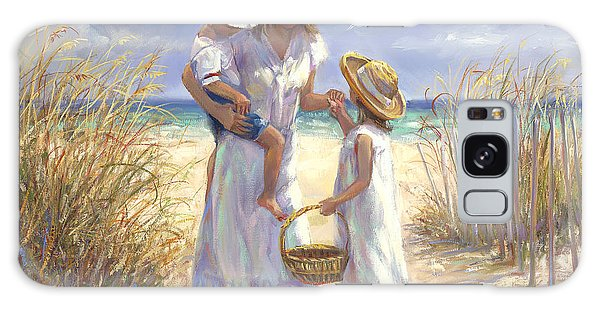 Brothers Galaxy Case - Mothers Day Beach by Laurie Snow Hein