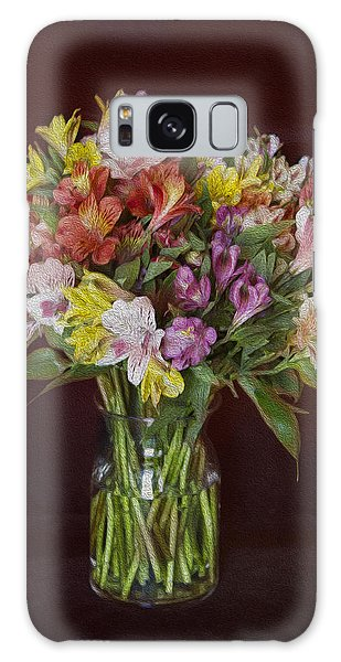 Mother's Day Bouquet Galaxy Case