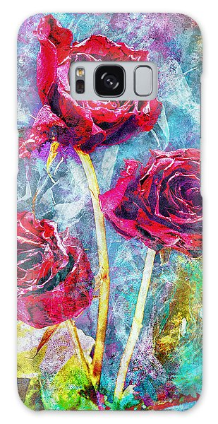 Mothers Day Rose Galaxy Case