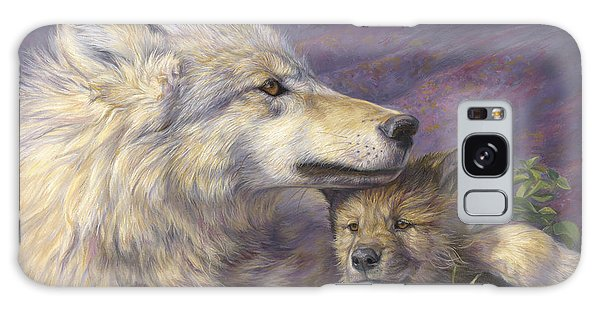 Wildlife Galaxy Case - Mother's Love by Lucie Bilodeau
