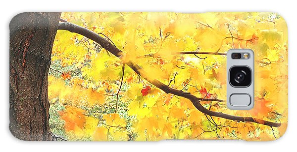 Motion Of Autumn Leaves On Tree Galaxy Case by Gary Slawsky