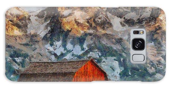 Moulton Barn Galaxy Case by Kai Saarto