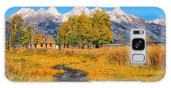 Moulton Homestead Galaxy Case by Greg Norrell