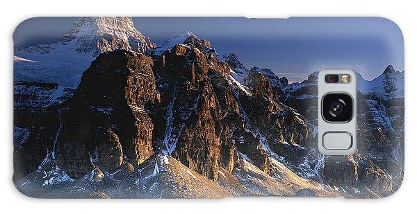 Mount Assiniboine And Sunburst Peak At Sunset Galaxy Case