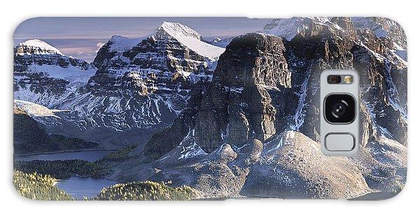 Mount Assiniboine In The Fall Galaxy Case
