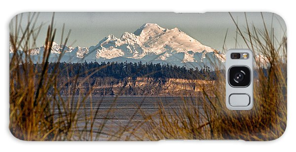 Mount Baker From Port Townsend Galaxy Case