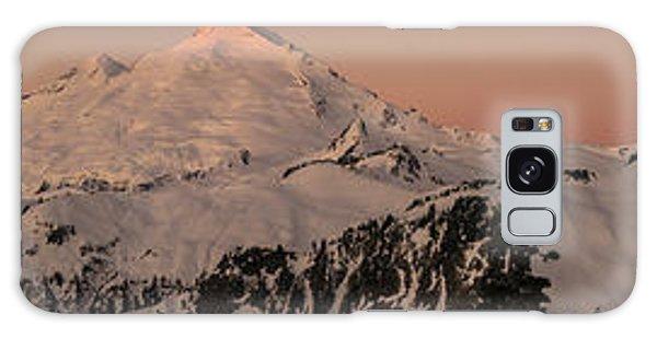 Heather Galaxy Case - Mount Baker Majestic by Mike Reid