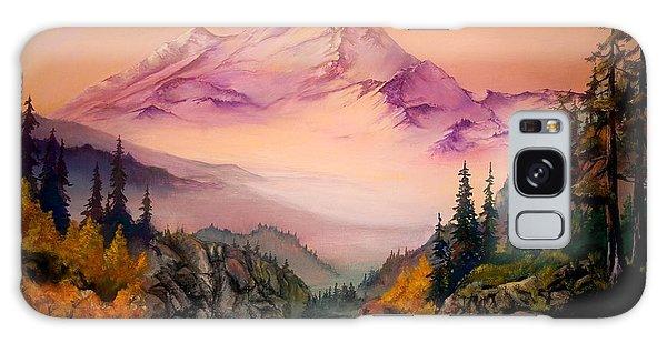Mount Baker Morning Galaxy Case