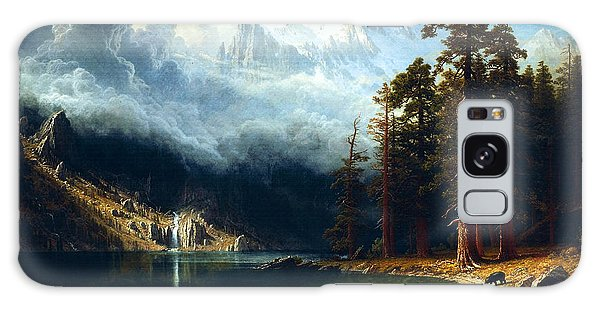 Mount Corcoran Galaxy Case by Albert Bierstadt