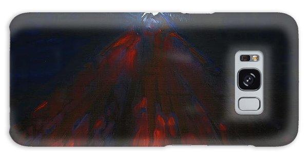 Mount Fuji By Night 2003 Galaxy Case