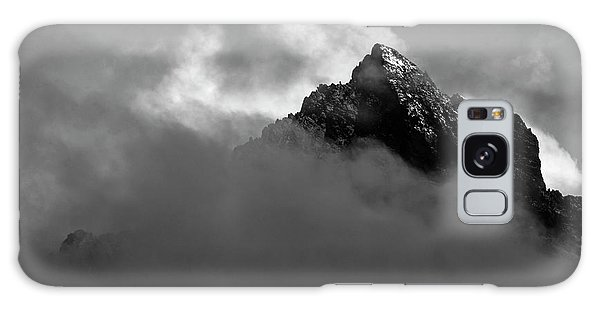 White Mountain National Forest Galaxy Case - Mount Kenya Rises From The Clouds by Jake Norton