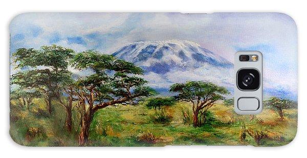 Mount Kilimanjaro Tanzania Galaxy Case