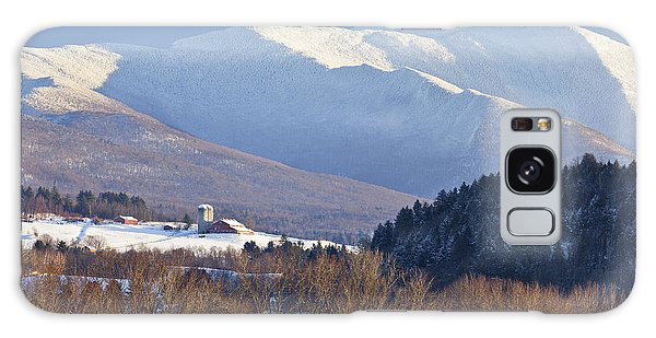 Mount Mansfield Winter Galaxy Case
