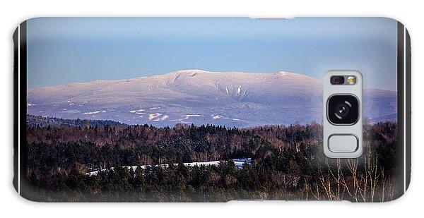 Mount Moosilauke Snowy Blanket Galaxy Case