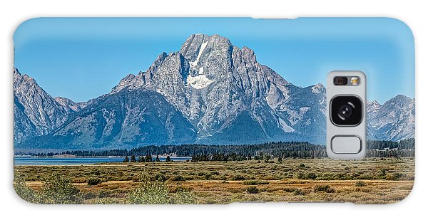 Mount Moran Galaxy Case by John M Bailey