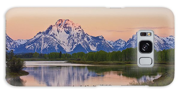 Mount Moran Sunrise Galaxy Case