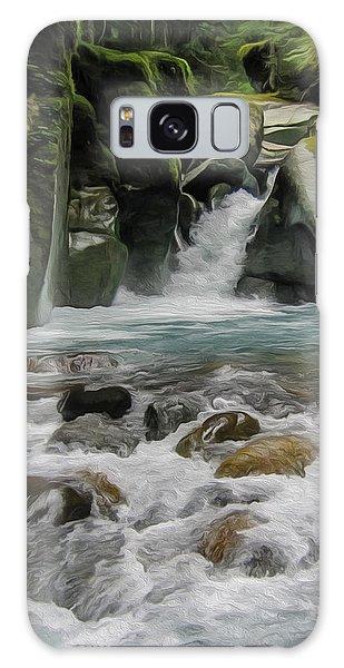 Mount Rainier Falls Galaxy Case