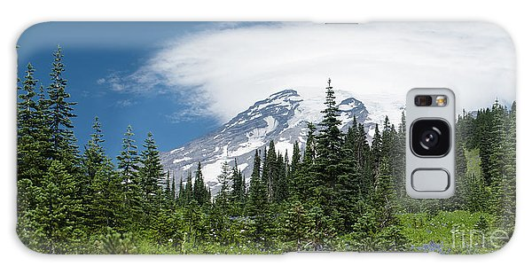 Mount Rainier Forest Galaxy Case