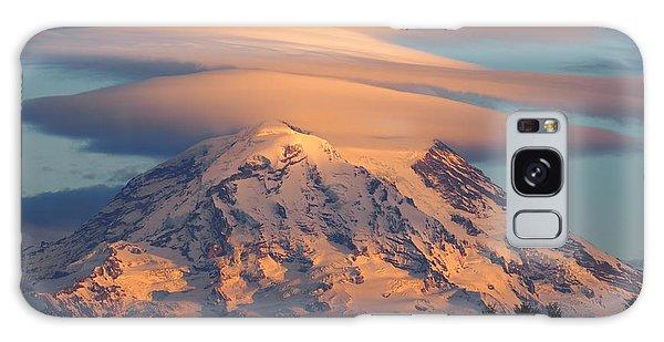 Mount Rainier In November  Galaxy Case