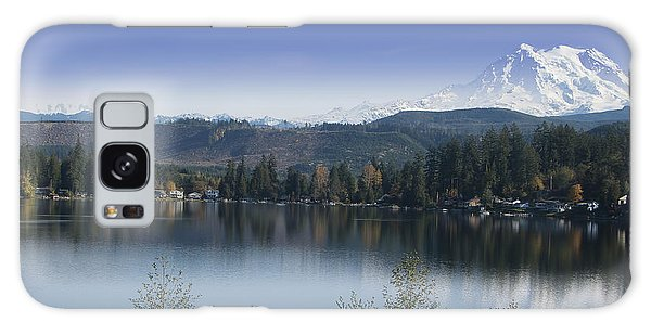 Mount Rainier In The Fall Galaxy Case