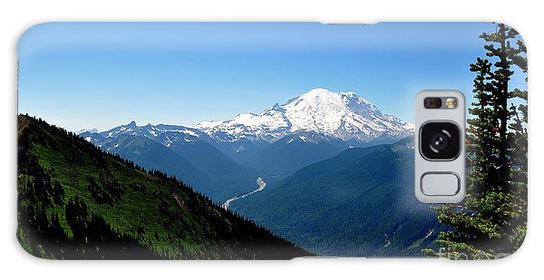 Mount Rainier Seen From Crystal Mountain Summit  4 Galaxy Case